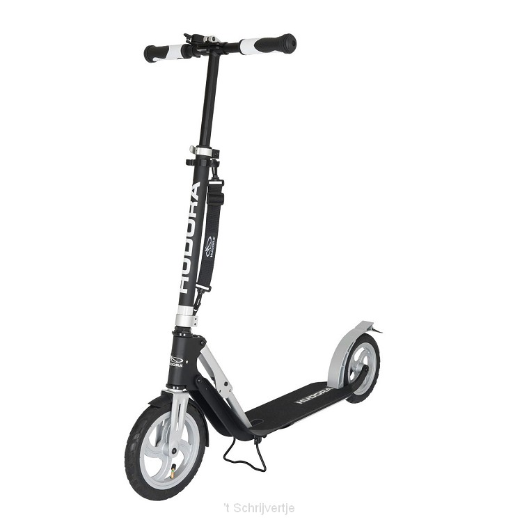 Hudora Big Wheel Air 230 Step - Zwart