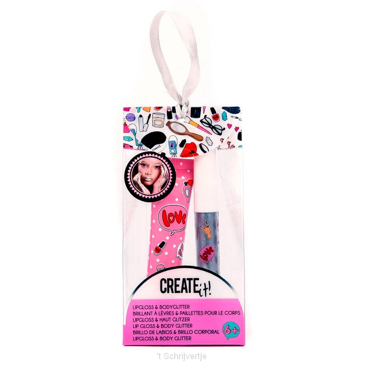 Create It! Lipgloss & Bodyglitter