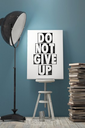 Wenskaart don't give up