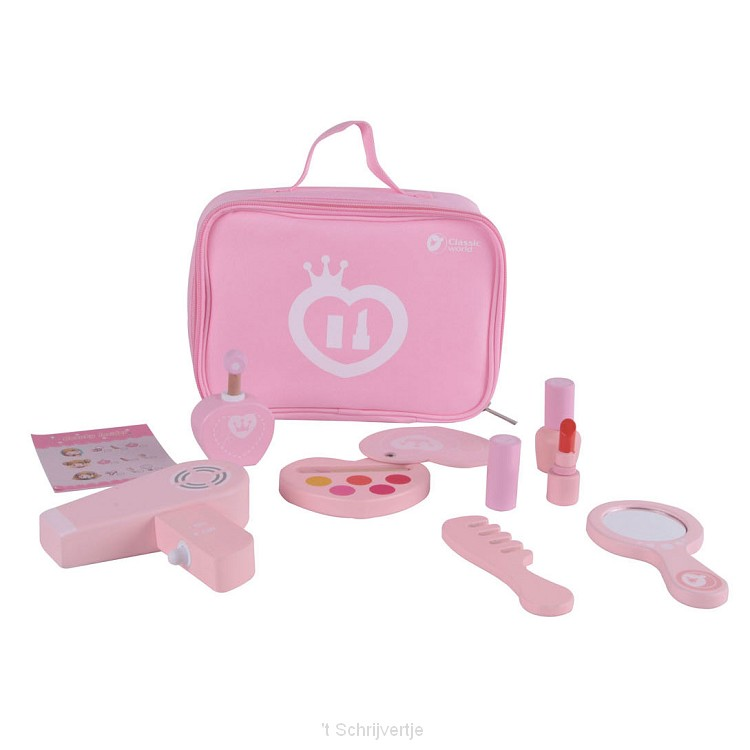 Classic World Houten Make-up Set