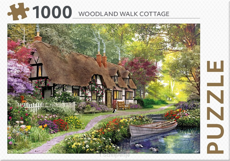 Puzzel Woodland Walk cottage 1000