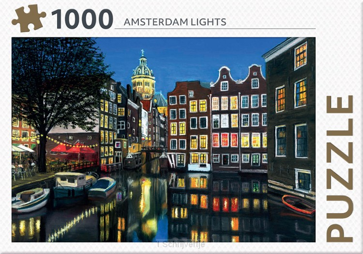 Puzzel Amsterdam Lights 1000
