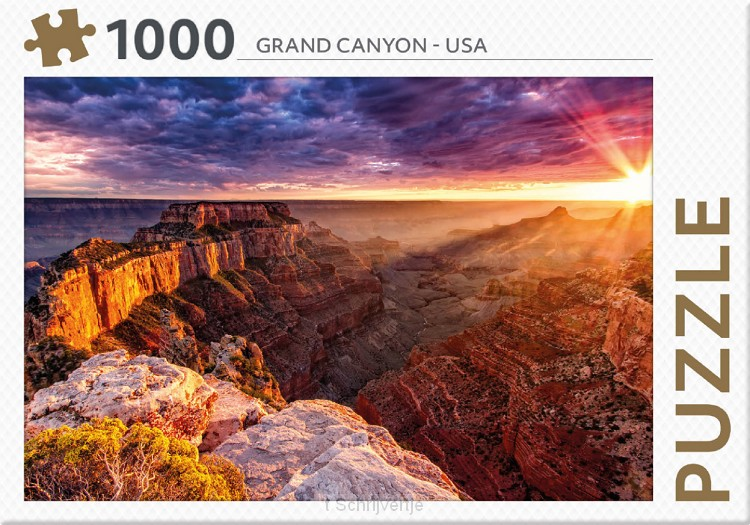 Puzzel Grand Canyon USA 1000