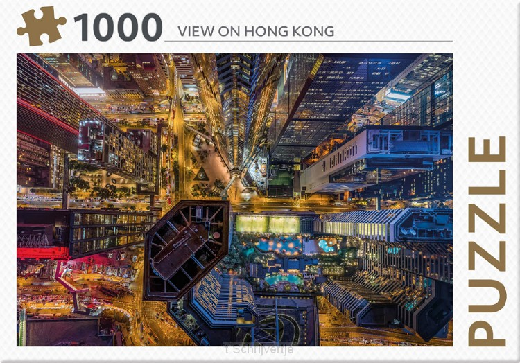 Puzzel Vieuw on Hong Kong