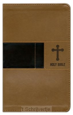 NIV - Prem. Gift Bible, Brown, Leatherso