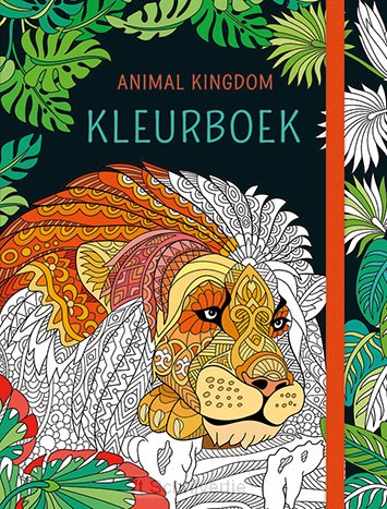 Animal kingdom kleurboek